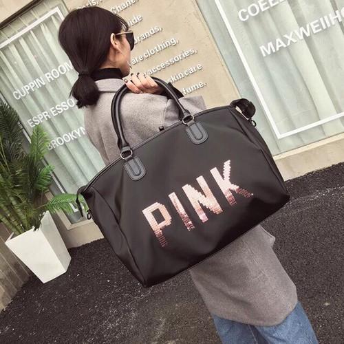 Túi du lịch Pink Gấp gọn - Phong cách SPORT
