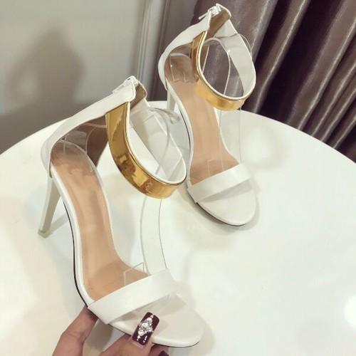 giày sandal gót cao
