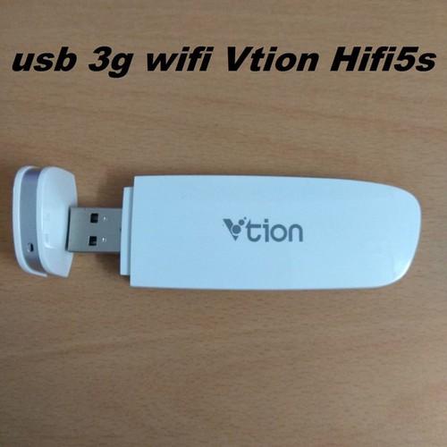 Vtion HiFi5S Phát Wifi Từ Sim, Đa Mạng, Sóng Khỏe, Phủ Rộng, Tốc Độ Cao