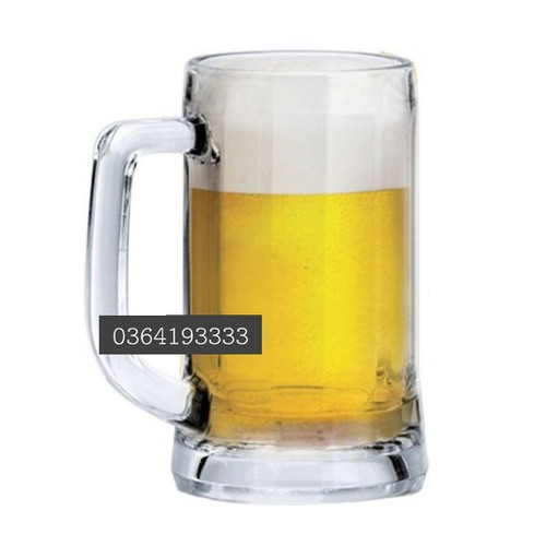 cốc thủy tinh uống bia 335ml ly bia thủy tinh 6 cái