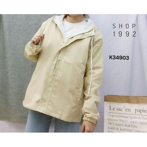 áo khoác kiểu trơn