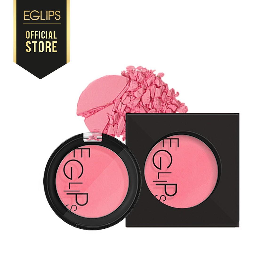 Phấn Má Dạng Nén Eglips Apple Fit Blusher - 02 Sexy Rose 4g Màu hoa hồng - EG-BLS-SR02-R