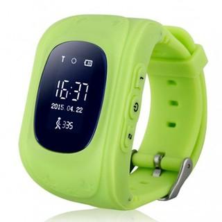 Đồng hồ định vị trẻ em LBS màu xanh lá nghe gọi dành cho bé - q50xl thumbnail