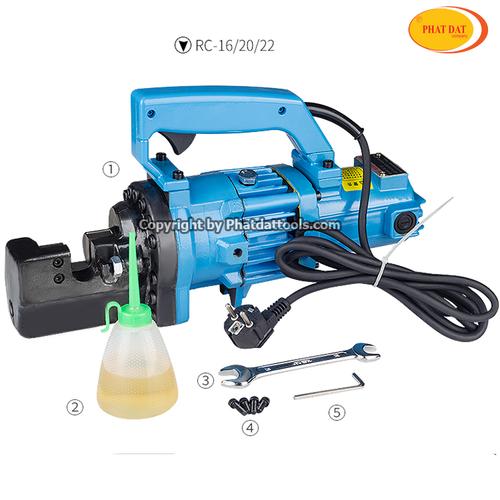 Máy cắt sắt thủy lực RC16- Máy cắt sắt thủy lực