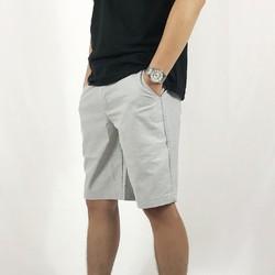 Quần shorts nam vải đũi trẻ trung