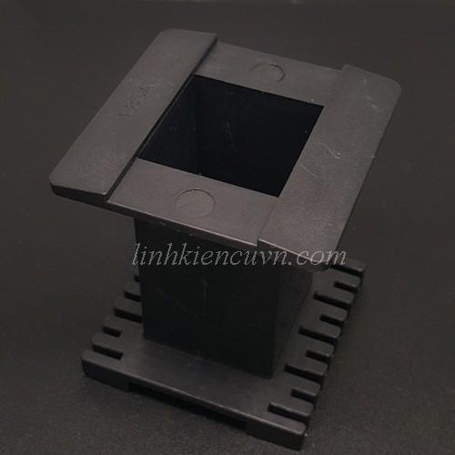 Khuân nhựa EE85A không chân hàn đen