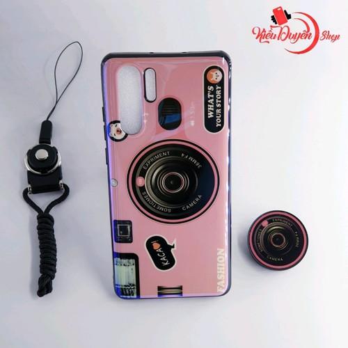 Ốp lưng Huawei P30 Pro,ốp lưng hình máy ảnh kèm giá đỡ và dây đeo - 8781675 , 17974391 , 15_17974391 , 80000 , Op-lung-Huawei-P30-Proop-lung-hinh-may-anh-kem-gia-do-va-day-deo-15_17974391 , sendo.vn , Ốp lưng Huawei P30 Pro,ốp lưng hình máy ảnh kèm giá đỡ và dây đeo