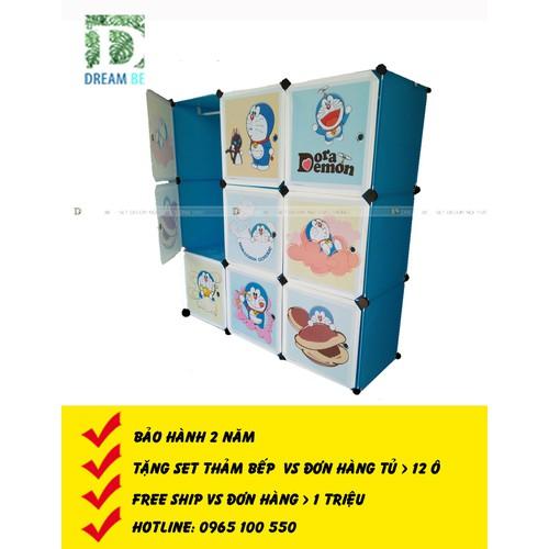 Tủ nhựa  ghép  9 ô hình doremon màu xanh trời - 7741724 , 17970702 , 15_17970702 , 709000 , Tu-nhua-ghep-9-o-hinh-doremon-mau-xanh-troi-15_17970702 , sendo.vn , Tủ nhựa  ghép  9 ô hình doremon màu xanh trời