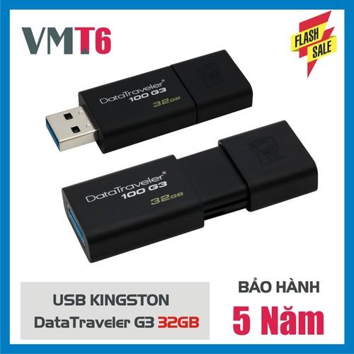 USB Kingston DT100G3 32GB - Hàng chính hãng bảo hành 5 năm! - 4970518 , 17980264 , 15_17980264 , 129000 , USB-Kingston-DT100G3-32GB-Hang-chinh-hang-bao-hanh-5-nam-15_17980264 , sendo.vn , USB Kingston DT100G3 32GB - Hàng chính hãng bảo hành 5 năm!