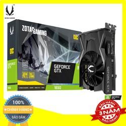 Card màn hình Zotac GeForce GTX 1650 OC - Chính hãng bảo hành 36 tháng - ZT-T16500F-10L