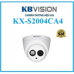CAMERA 2MP CHIP SONY, STARTLIGHT KBVISION KX-S2004CA4