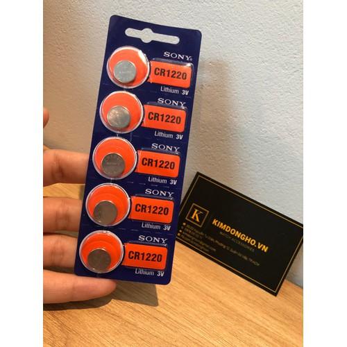 Viên pin Sony 1220 dùng để thay điều khiển điều hoà, điều khiển cửa cuốn CR1220 vỉ 1 viên - 7743397 , 17980183 , 15_17980183 , 20000 , Vien-pin-Sony-1220-dung-de-thay-dieu-khien-dieu-hoa-dieu-khien-cua-cuon-CR1220-vi-1-vien-15_17980183 , sendo.vn , Viên pin Sony 1220 dùng để thay điều khiển điều hoà, điều khiển cửa cuốn CR1220 vỉ 1 viên