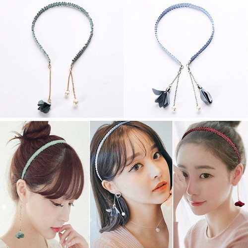 Cài tóc bông tai Hàn Quốc