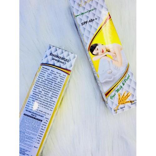 COM BO 2 Sữa tắm Erina sữa non yến mạch thái lan 300ml spf 45