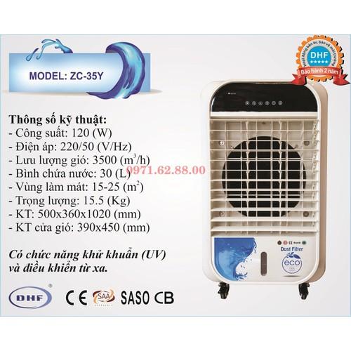 Quạt làm mát  không khí, máy điều hòa hơi nước KEYE ZC-35Y - 4770853 , 17975244 , 15_17975244 , 4950000 , Quat-lam-mat-khong-khi-may-dieu-hoa-hoi-nuoc-KEYE-ZC-35Y-15_17975244 , sendo.vn , Quạt làm mát  không khí, máy điều hòa hơi nước KEYE ZC-35Y
