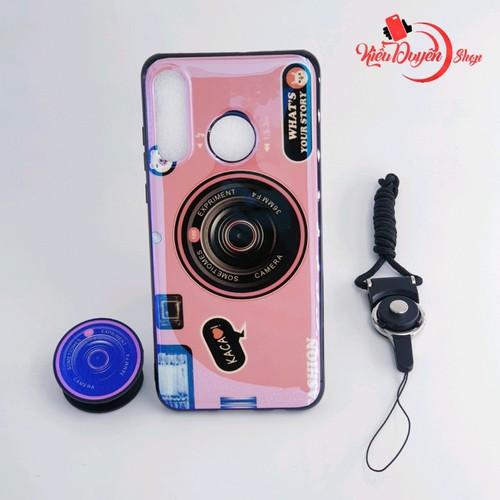 Ốp lưng Huawei P30 Lite hình máy ảnh kèm giá đỡ và dây đeo - 8775828 , 17972326 , 15_17972326 , 80000 , Op-lung-Huawei-P30-Lite-hinh-may-anh-kem-gia-do-va-day-deo-15_17972326 , sendo.vn , Ốp lưng Huawei P30 Lite hình máy ảnh kèm giá đỡ và dây đeo
