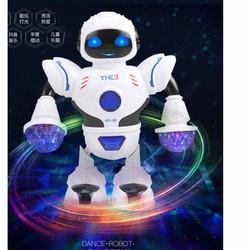 Robo nhảy múa có đèn nhạc