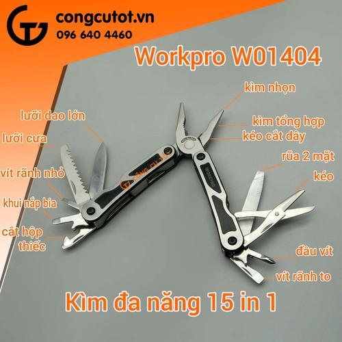 Kìm đa năng cho dân phượt Workpro-W014004