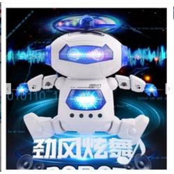 freeship Robot đồ chơi thông minh phát nhạc xoay 360 độ cho bé