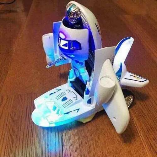 Máy bay biến hình thành robot phát nhạc cho bé yêu - 8809040 , 17984730 , 15_17984730 , 119000 , May-bay-bien-hinh-thanh-robot-phat-nhac-cho-be-yeu-15_17984730 , sendo.vn , Máy bay biến hình thành robot phát nhạc cho bé yêu