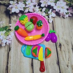 Bộ đồ chơi cắt hoa quả