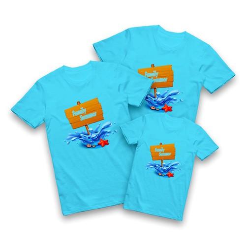 Áo gia đình in hình dễ thương   CD07 -chọn size áo Nhắn Tin hoặc  Ghi Chú cho shop nhé-
