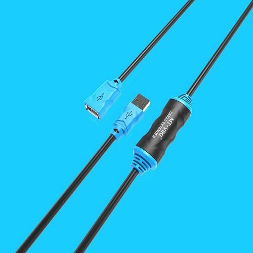 ViKi MT-UD10 Cáp nối dài USB 2.0 10m Có IC khuếch đại tín hiệu .