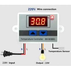 Bộ điều khiển nhiệt độ 220VAC 10A XH-W3001
