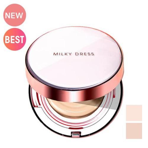 Phấn trang điểm dạng nước che khuyết điểm cao Milky Dress