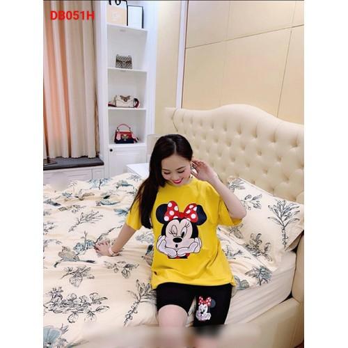 Đồ bộ mặc nhà nữ Mickey dễ thương
