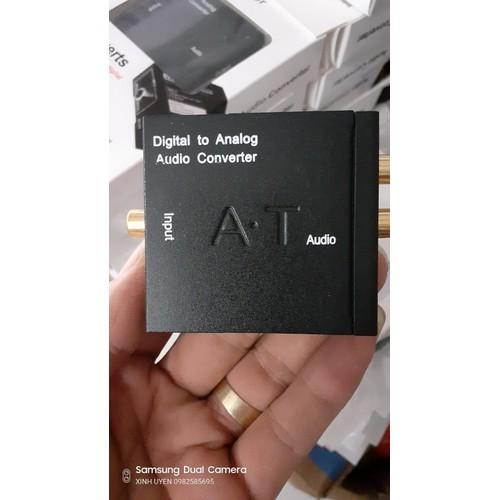 Bộ chuyển đổi tín hiệu quang Coaxial Optical sang audio