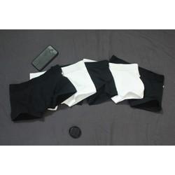 Combo 5 cái quần boxer nam 3 ĐEN+2 TRẮNG