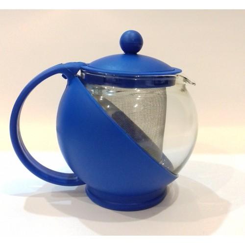 Bình lọc trà tròn thủy tinh 500ml