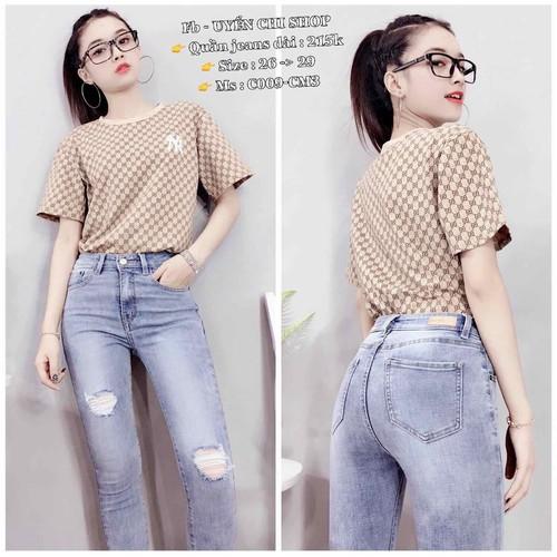 jean nữ giá mềm