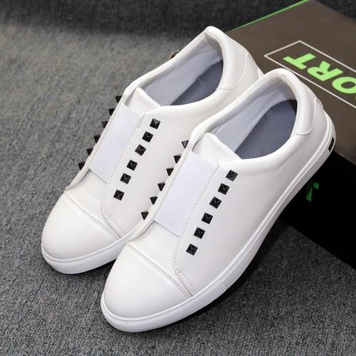 giày sneaker nam- giày nam trắng- giày cổ thấp- khuyến mãi cực khủng
