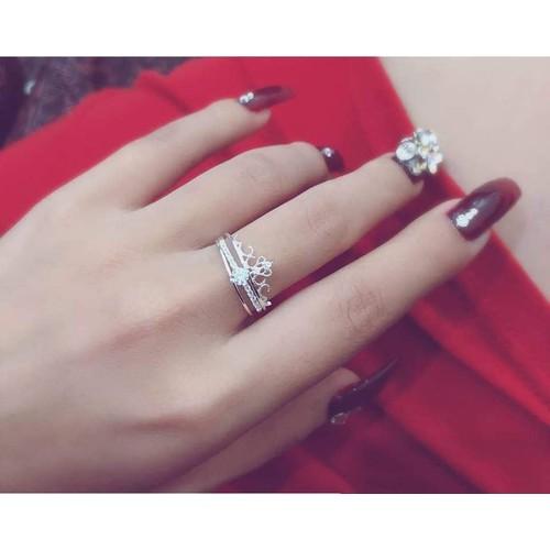 nhẫn vương miện 2 trong 1 chuẩn bạc ta - 8859905 , 18010104 , 15_18010104 , 120000 , nhan-vuong-mien-2-trong-1-chuan-bac-ta-15_18010104 , sendo.vn , nhẫn vương miện 2 trong 1 chuẩn bạc ta