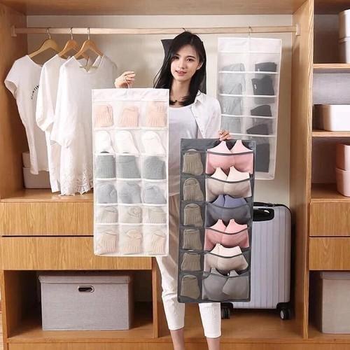 Túi vải treo đồ lót 30 ngăn- Túi treo đồ tiện lợi