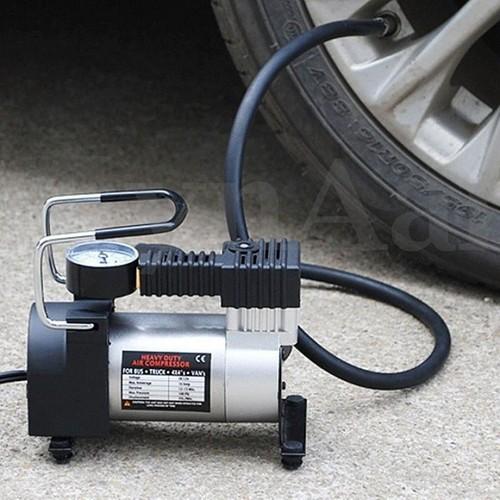 Bơm Xe hơi Mini cầm tay 12v - Bơm mini công suất lớn - Bơm cứu hộ xe hơi - Bơm 12v