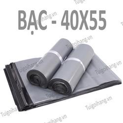 20 Túi Niêm Phong - Túi Đóng Hàng chuyên dụng Bạc 40x55cm