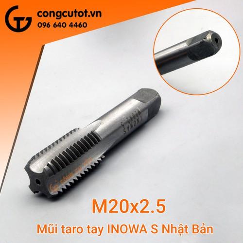 Taro tay M20*2.5 Inowas - 7745374 , 17991462 , 15_17991462 , 75000 , Taro-tay-M202.5-Inowas-15_17991462 , sendo.vn , Taro tay M20*2.5 Inowas