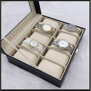 hộp đựng đồng hồ- hộp đồng hồ - hộp đồng hồ - hộp đựng đồng hồ 10 ô thumbnail
