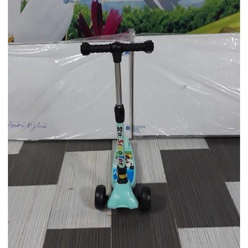 Xe trượt Scooter Bánh to hàng Cao cấp 3 chế độ - có giảm xóc phanh chân điều chỉnh cao thấp