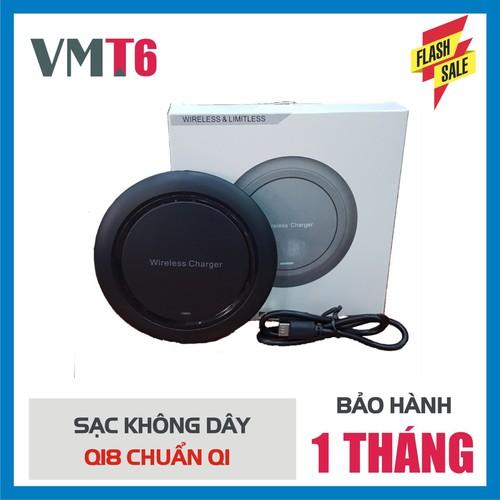 Đế Sạc Không Dây Đa Năng Q18 Chuẩn Qi Cho Iphone X , Iphone 8, Note8...