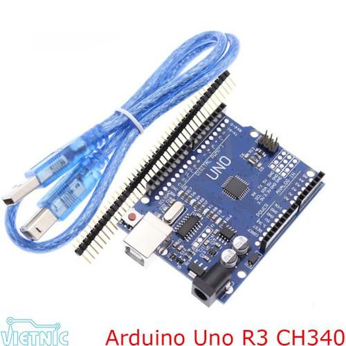 Arduino Uno R3 SMD - Không kèm cáp nạp
