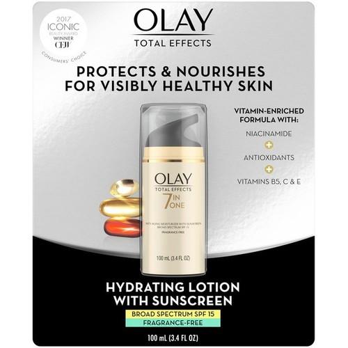 OLAY MỸ Kem dưỡng da chống lão hóa Olay Total Effect 7 in 1 hàng nhập Costco Mỹ 100ml