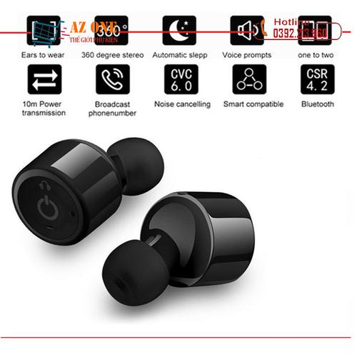 Tai Nghe Bluetooth Không Dây True wireless Bluetooth X1T Cao Cấp