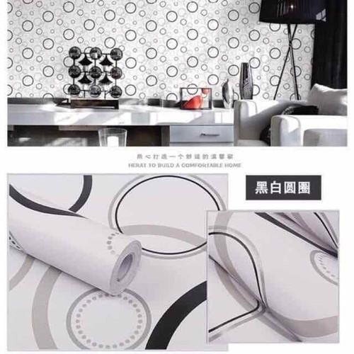 20m giấy dán tường 2 cuộn hình tròn đen trắng - 7627561 , 18002439 , 15_18002439 , 235000 , 20m-giay-dan-tuong-2-cuon-hinh-tron-den-trang-15_18002439 , sendo.vn , 20m giấy dán tường 2 cuộn hình tròn đen trắng