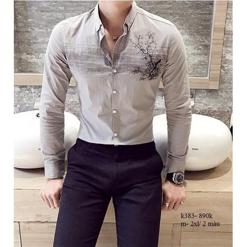 Áo somi nam thời trang