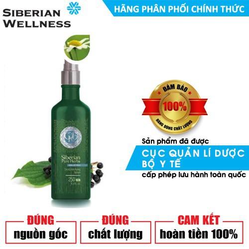 Sữa chăm sóc da đầu giảm thiểu gầu và bong tróc da đầu Siberian Pure Herbs Collection Scalp tonifying lotion