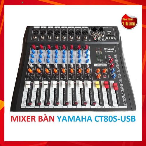 Bàn Mixer Chuyên Nghiệp CT80S-USB - Tặng USB Bluetooth